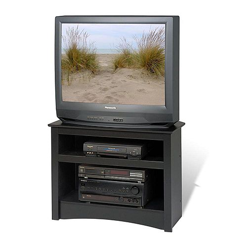 32-inch x 24-inch x 21-inch TV Stand in Black