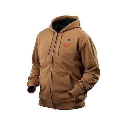 M12 Cordless Khaki Heated Hoodie Kit - Double Extra Large