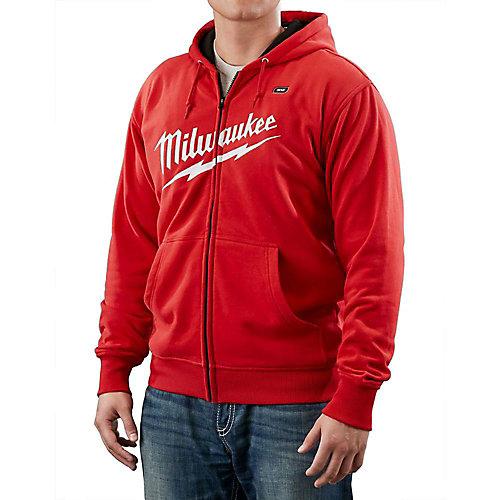 M12 Cordless Red Heated Hoodie Kit - Medium