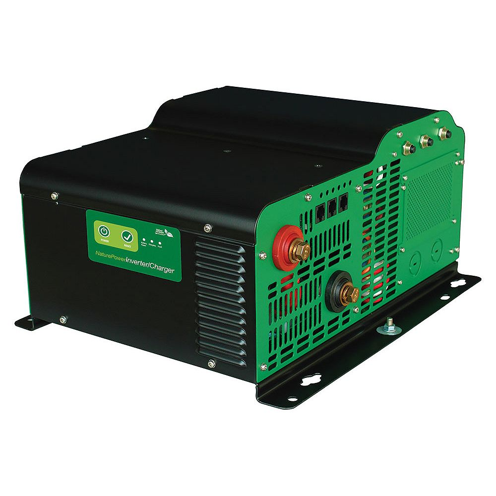 Nature Power 3000-Watt Pure Sine Wave Inverter with 150-Amp Inverter Charger