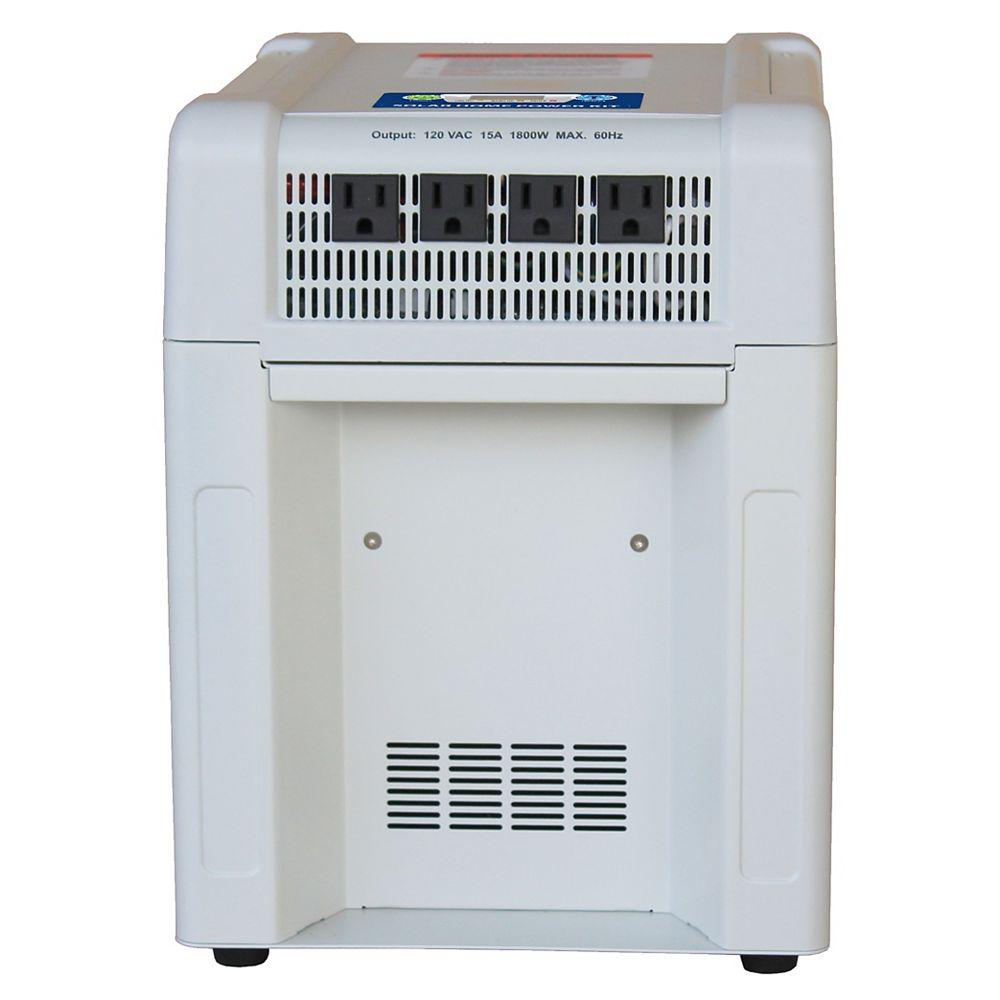 Nature Power 1800-Watt Portable Battery Home and RV Power Kit