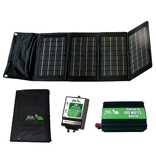 Kit d'alimentation solaire de 40 watts