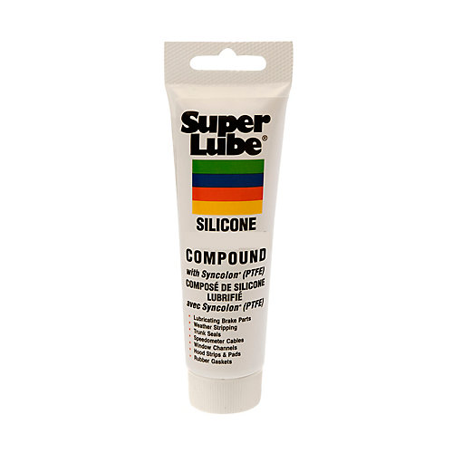 8 oz. Tube Silicone Lubricating Brake Grease with Syncolon PTFE (12-Piece)