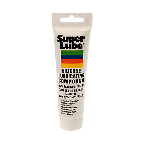 3 oz. Tube Silicone Lubricating Grease with Syncolon PTFE (12-Piece)