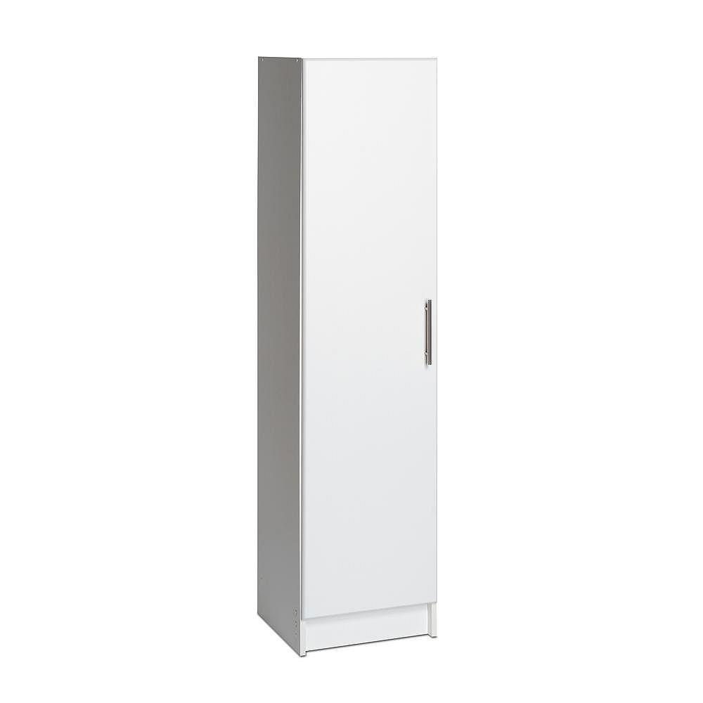 Prepac Elite 16-inch Narrow Cabinet in White