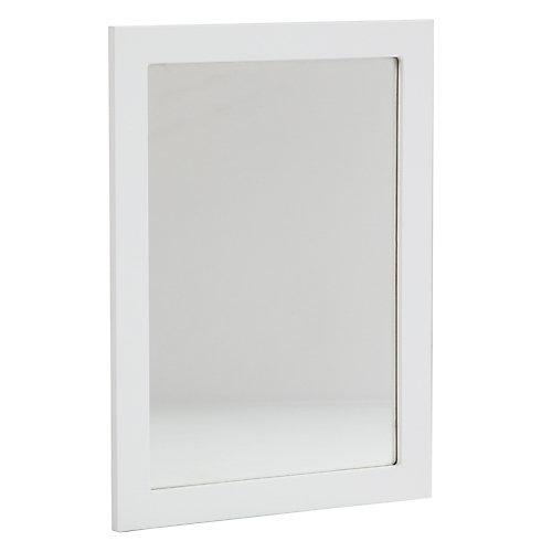 Miroir mural LAWM20C-WH Lancaster, 20po, blanc