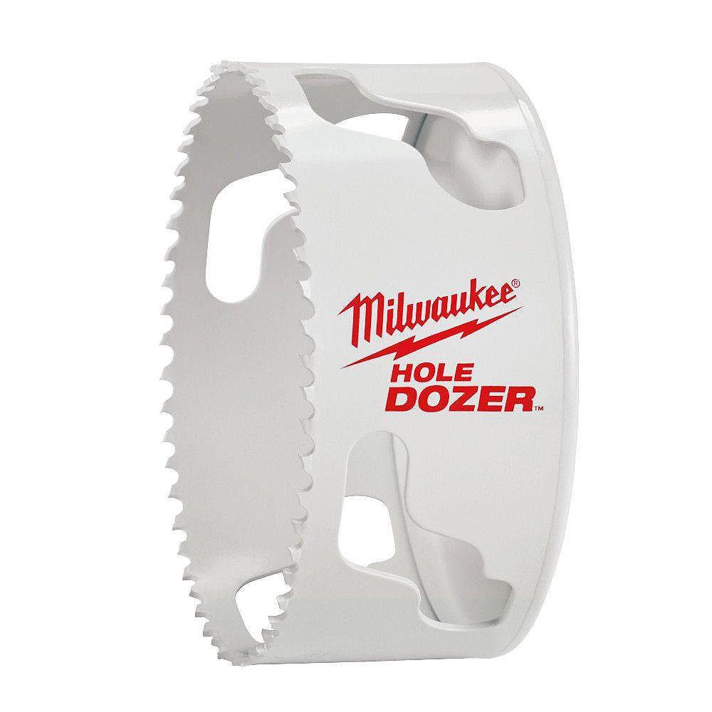 Milwaukee Tool Scie-cloche Ice HardenedMC de 6po
