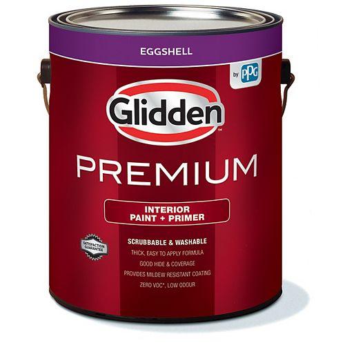 Paint + Primer Interior Eggshell - Medium Base 3.6 L