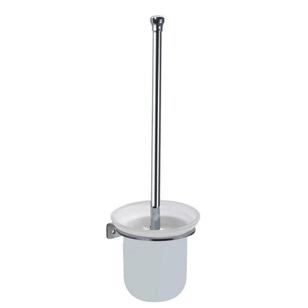 Inoxia Loft Collection Collection Loft Support Et Brosse A Toilette Acier Inoxydable Véritable