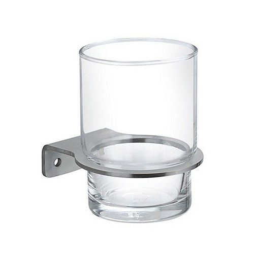 Inoxia Loft Series Stainless Steel Glass Holder