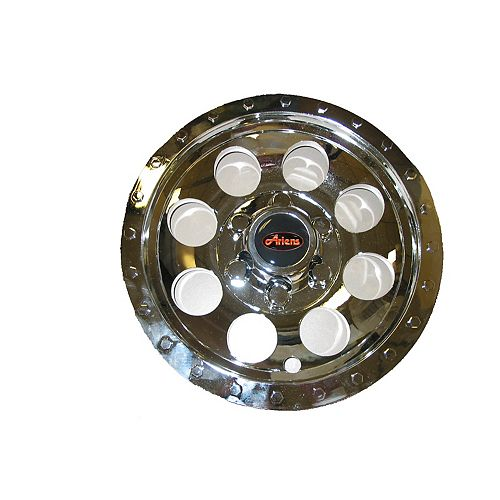 8-inch Chrome Wheel Covers for Zoom 34-inch Lawn Mowers (2-Pack)