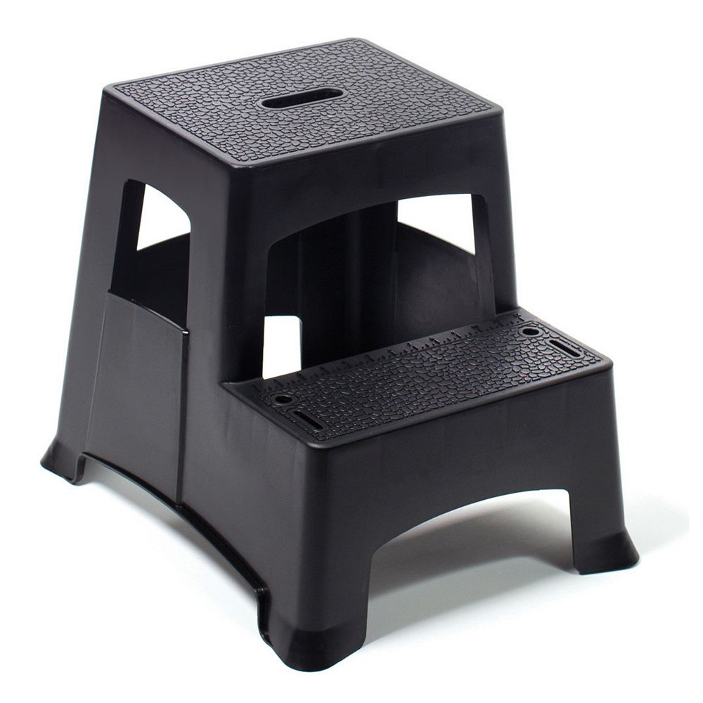 Gorilla Ladders 2-Step Molded Plastic Stool