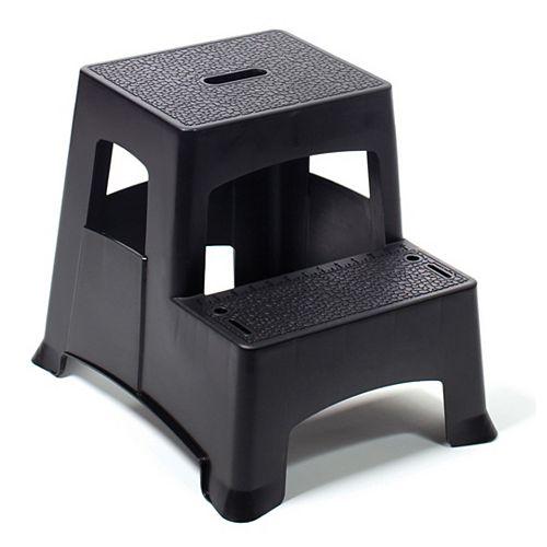 2-Step Molded Plastic Stool