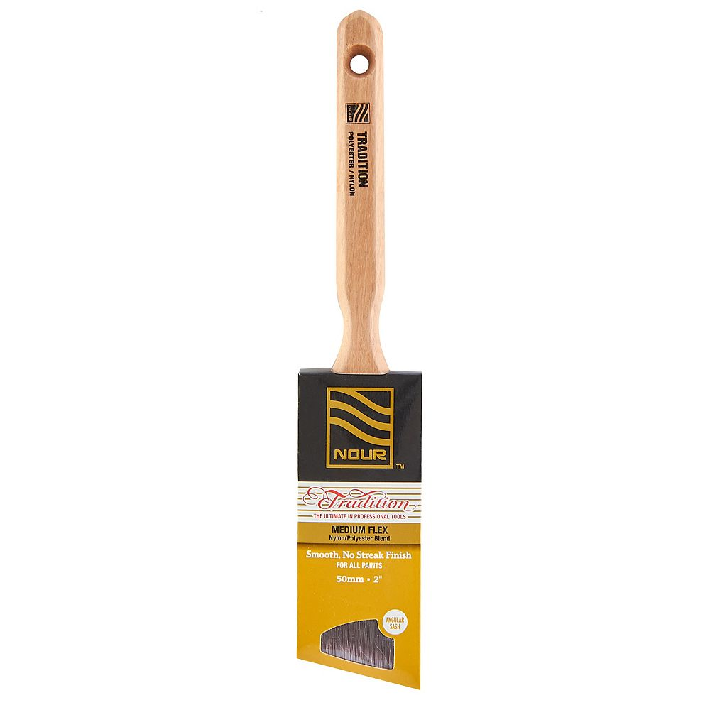 Nour Tradition 2 inch  Poly/Nylon Angular Brush
