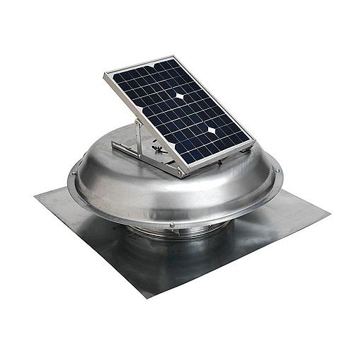 Ventilateur d'extraction de toit à énergie solaire de 500 CFM