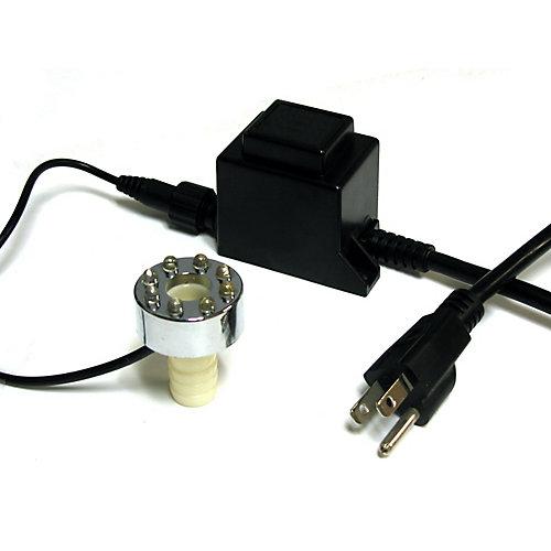 Lumière 8-DEL avec transformateur