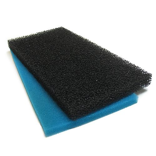 1500 Replacement Coarse and Fine Filtration for Pond Filter Box
