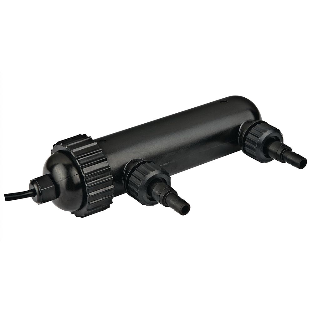 Angelo Décor UV Pond Water Clarifier, 9-Watt Submersible, Clears Green Water