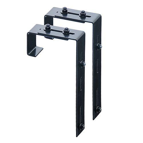 Adjustable Deck Rail Bracket 2-pack