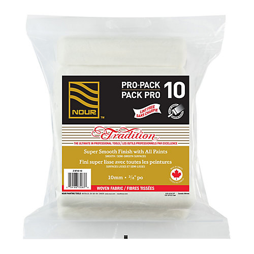 Tradition 10mm Woven Lint Free Roller Refill (10-Pack)