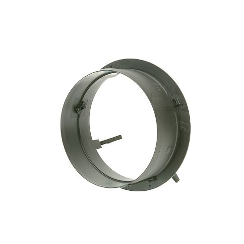 6-inch HVAC Connection Collar with no Damper