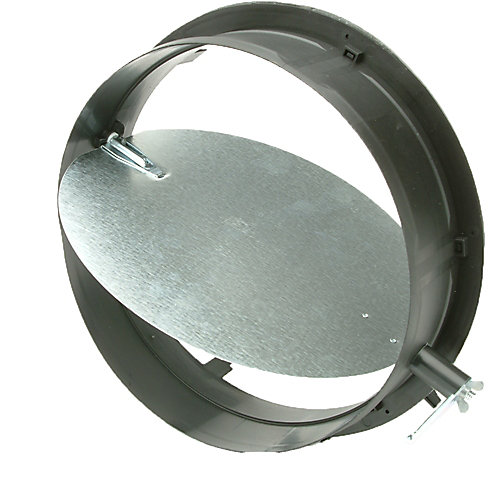 10-inch HVAC Connection Collar with Damper