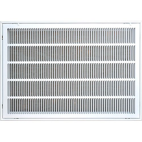 20 in. x 30 in. Filter Grille Return Air Vent Cover
