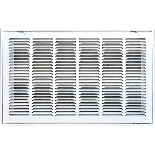 24 in. x 14 in. Filter Grille Return Air Vent Cover