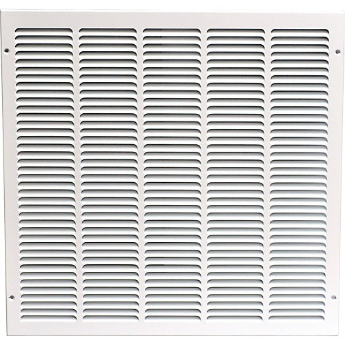 Grille dextraction d'air 20 x 20 po