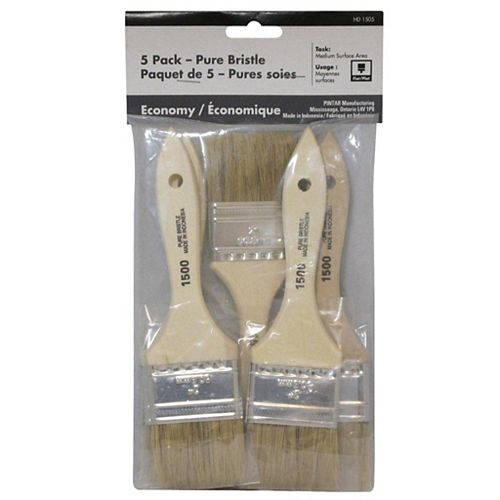 Chip Brush 2 Inches (5-Pack)