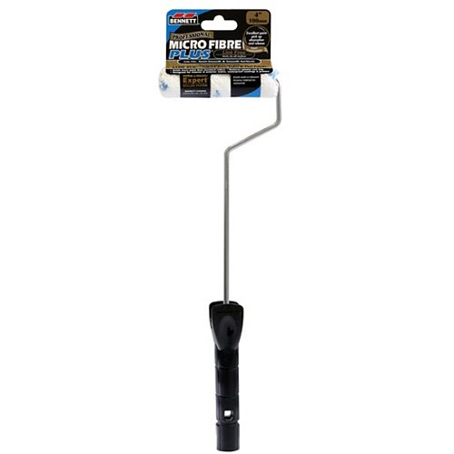 4 Inch.  Microfiber Roller & 16 Inch.  Handle