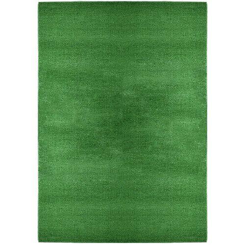 Turf Green 6 ft. x 8 ft. Indoor/Outdoor Contemporary Rectangular Area Rug