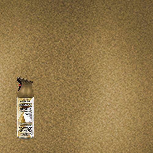 Metallic Spray Paint in Antique Brass, 312 G Aerosol