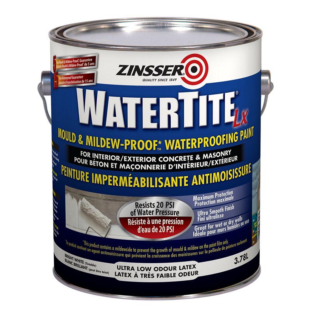 Zinsser Zinsser Watertite Lx Peinture Imperméabilisante Antimoisissure