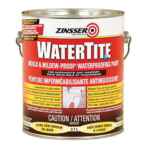 Watertite - Peinture Impermeabilisante Antimoisissure