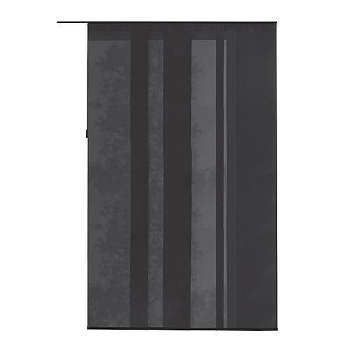 Panneau en tissu, Manhattan gris, 55 cm L x 269 cm H (Largeur réelle 55 cm)