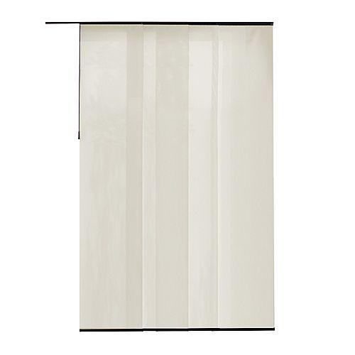 Panneau en tissu, Manhattan perle, 55 cm L x 269 cm H (Largeur réelle 55 cm)