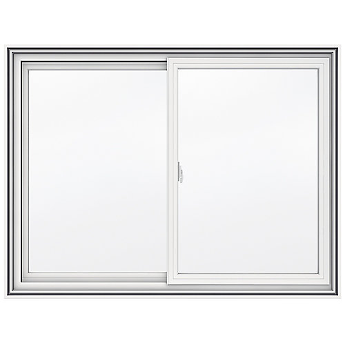 48-inch x 36-inch 5000 Series Vinyl Double Sliding Window with 4 9/16-inch Frame - ENERGY STAR®