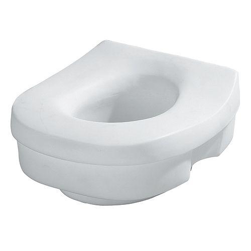 Elevated Toilet Seat - Tool-Free