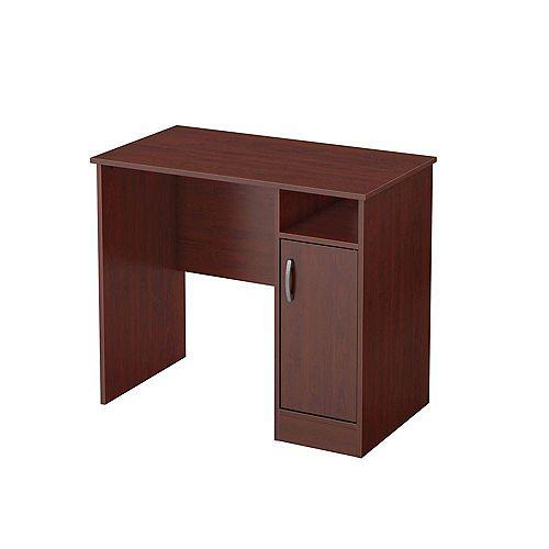 Freeport 35.5-inch x 30.25-inch x 19.5-inch Standard Writing Desk in Brown