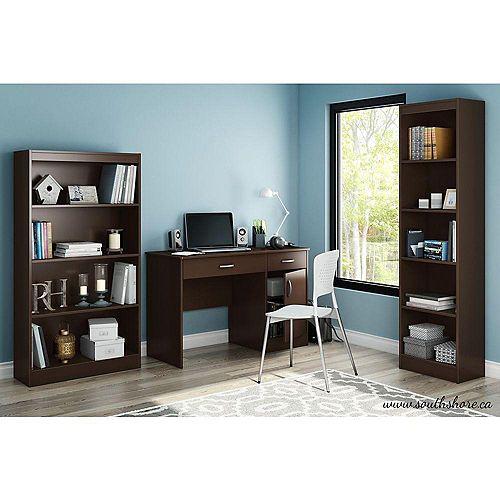 Freeport 47.25-inch x 30.25-inch x 18.75-inch Standard Writing Desk in Brown