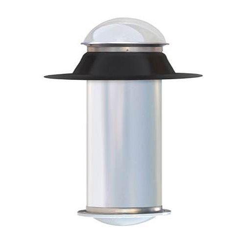 Tube de lumière rigide 10 pouces, ensemble plat