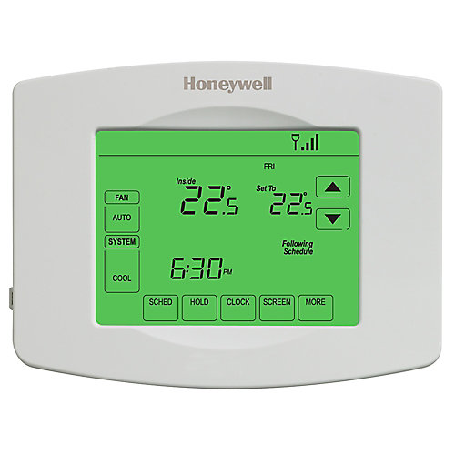 Wi-Fi Programmable Touchscreen Thermostat