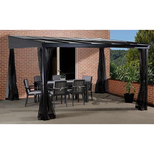 Cape Cod 10 ft. x 12 ft. Sun Shelter with Mosquito Net