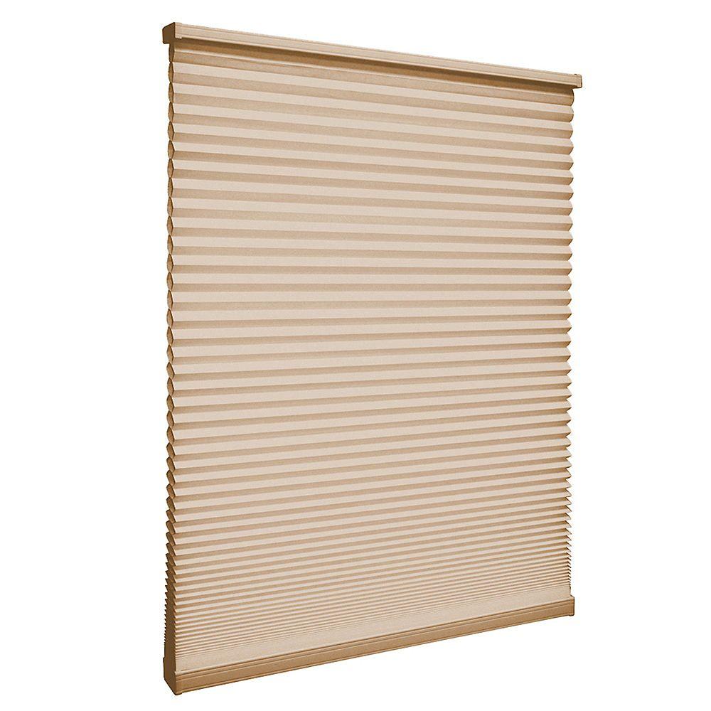 Home Decorators Collection 23 po x 72 po, Stores Cellulaires Filtre de Lumière Sans Fil Beige Sandstone