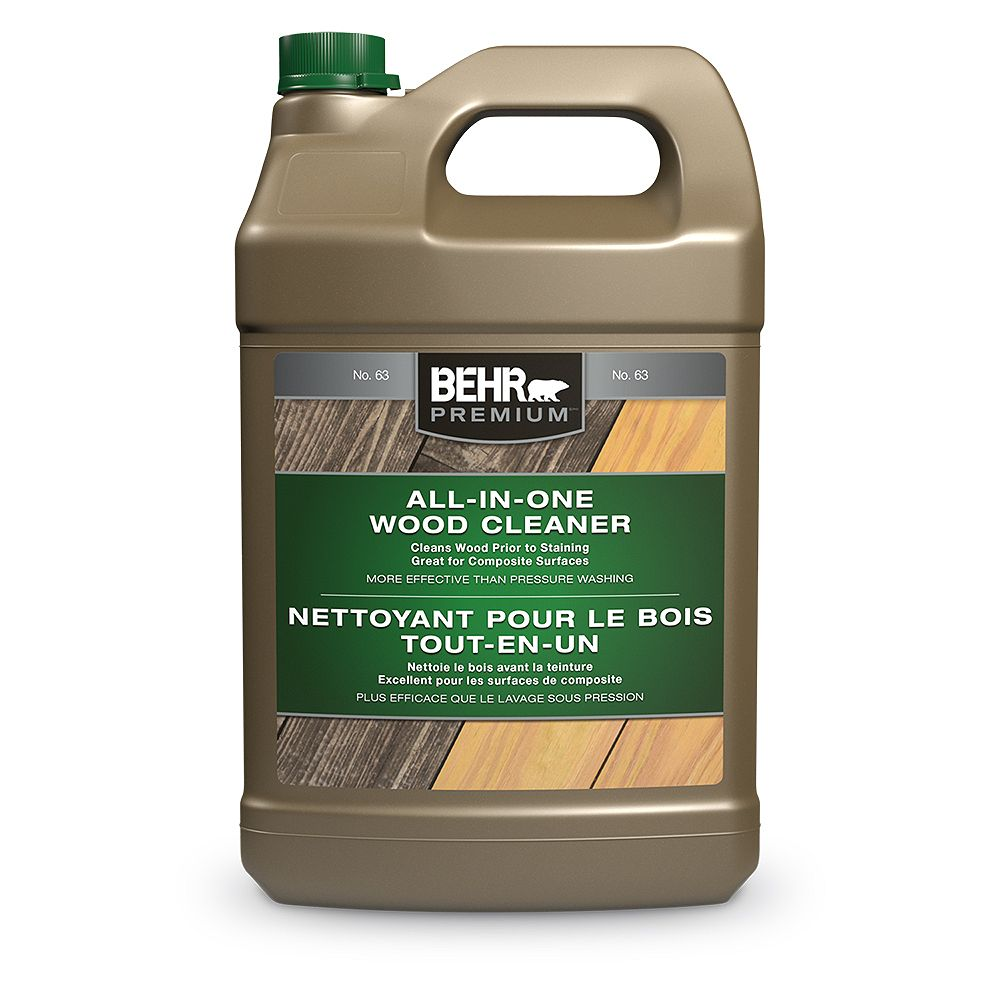 Behr Premium All In One Wood Cleaner 3 79 L The Home Depot Canada