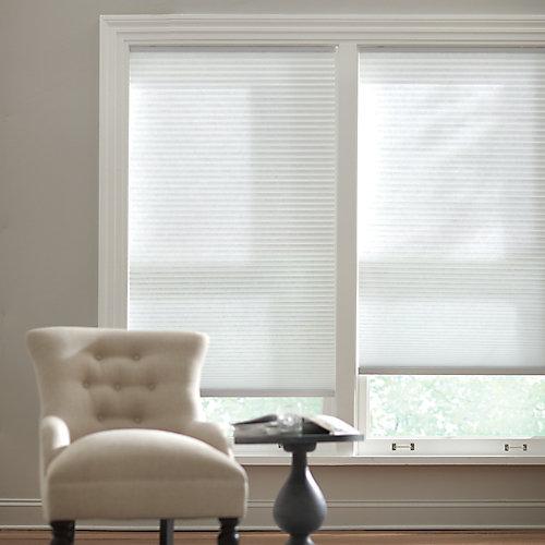 Store alvéolaire filtrant la lumière sans cordon poudrerie 45,7 cm L x 1,21 m H