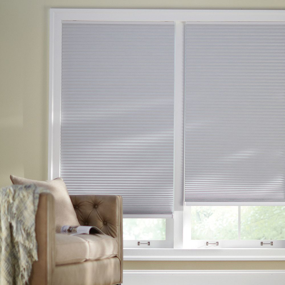 Home Decorators Collection 72 Inch W X 72 Inch L Blackout Cordless Cellular Shade In Shad The Home Depot Canada