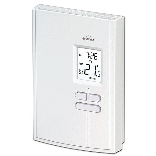 Aube Economy 5-2 Day Programmable Electric Baseboard Heat Thermostat