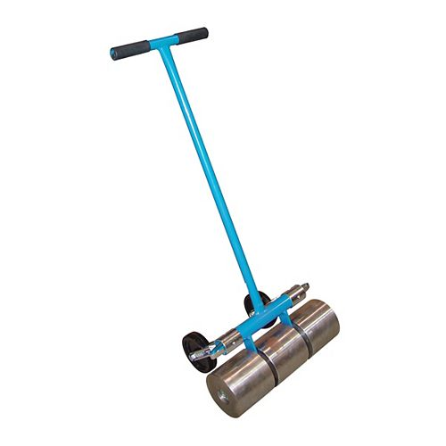 100# Linoleum Roller with Transport wheels